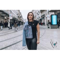 Tee-shirt Eva noir