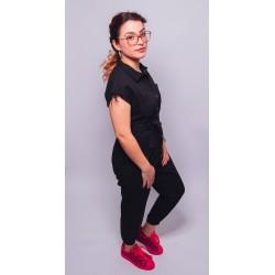 Combinaison jean noire ROMY